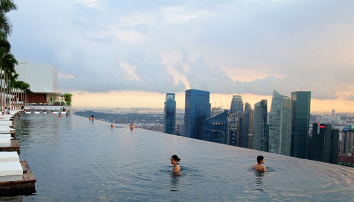 Singapore marina bay - Singapore hotel piscina ...