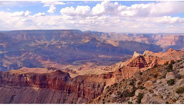 Grand canyon canyon spirit tour for Grand canyon north rim mappa della cabina